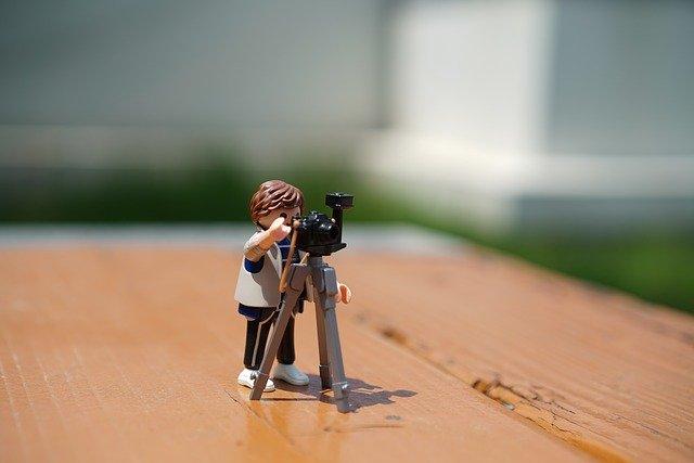 Comment prendre une photo de produit : Utiliser un trépied