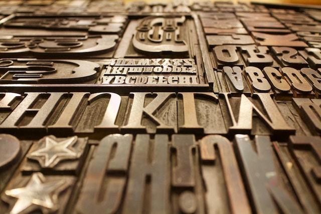 Identité visuelle : Typographie