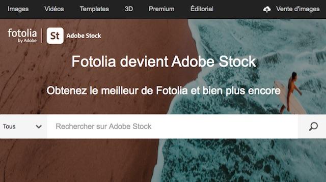 site pour vendre ses photos en ligne: Fotolia