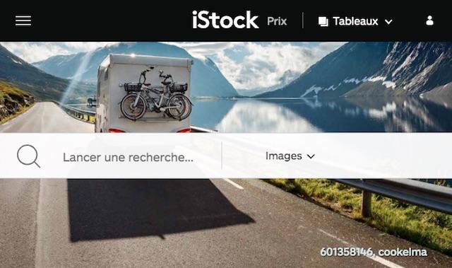 site pour vendre ses photos en ligne: istock